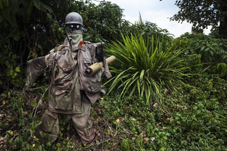 FARDC scarecrow (Courtesy Dan McCabe)