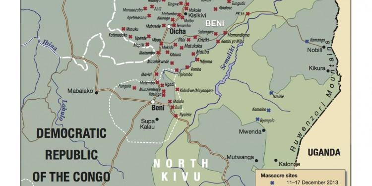 Map Beni