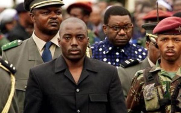 Joseph Kabila en 2001