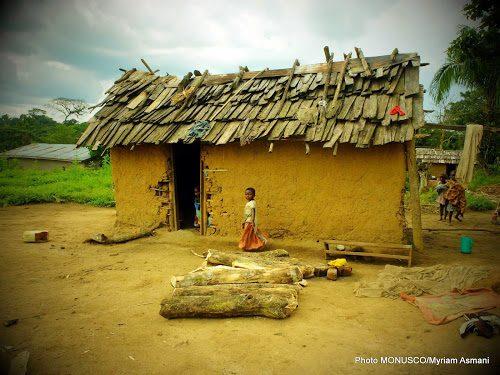 Un village du territoire de Beni, Nord-Kivu. Photo MONUSCO/Myriam Asmani