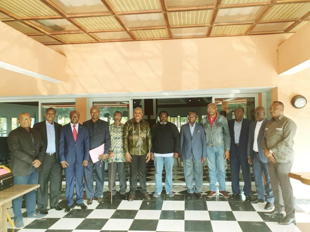 Une rencontre de la coalition FCC-Cach autour de Joseph Kabila.